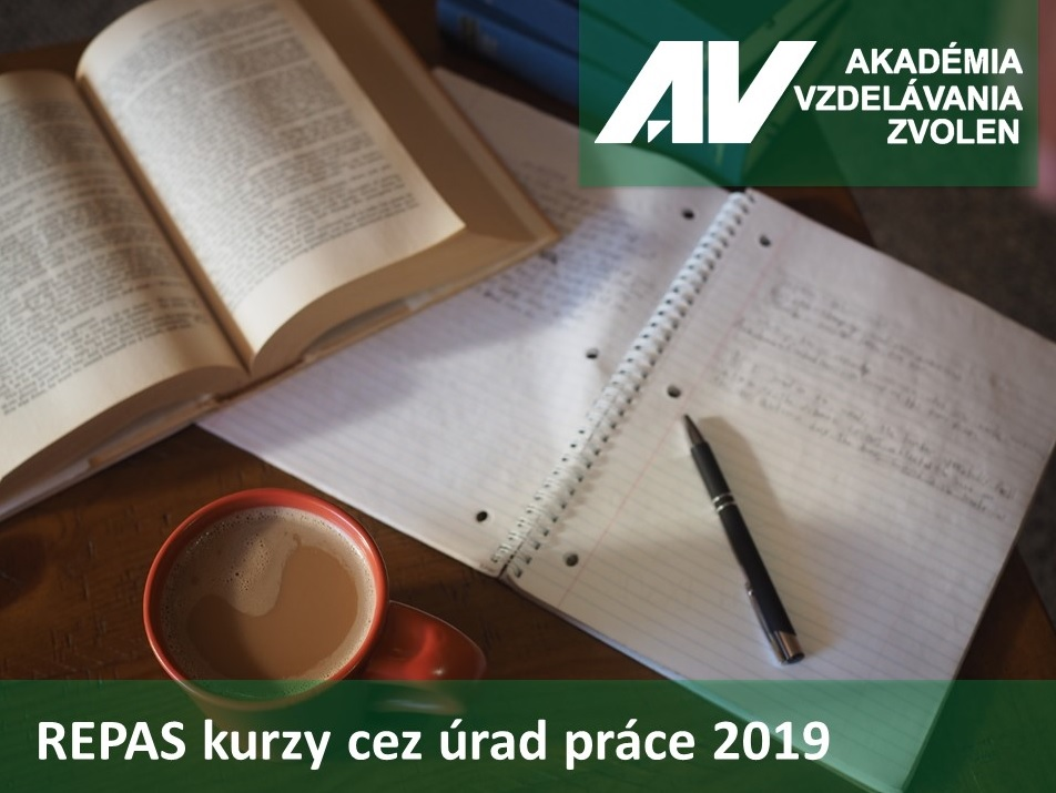REPAS kurzy cez úrad práce 2019