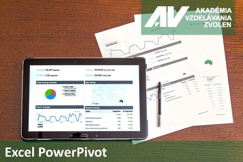 Excel Power Pivot - profesionálna analýza, modelovanie a vizualizácia údajov